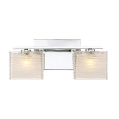 Quoizel Lighting Westcap Polished Chrome LED Bathroom Light