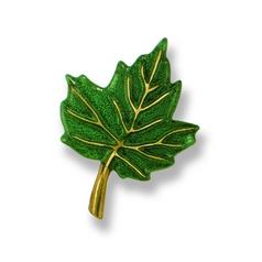 Maple Leaf Doorbell Button