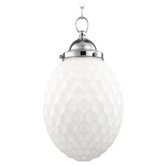 Columbia 1 Light Mini-Pendant Light - Polished Nickel