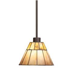 Kichler Craftsman Tiffany Mini-Pendant Light