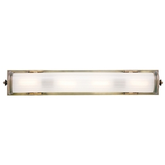 Historic Bronze Bathroom Light - Vertical or Horizontal Mounting