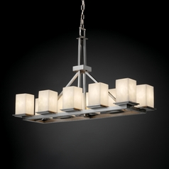 Justice Design Group Clouds Collection Island Light