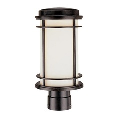 Dolan Designs Lighting 13-1/2-Inch Outdoor Post Light with LED Bulb 9106-68 8W  LED