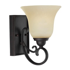 Sea Gull Lighting Del Prato Chestnut Bronze LED Sconce
