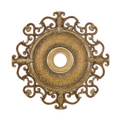 Minka Aire Fans Medallion in Tuscan Patina Finish CM7038-TSP