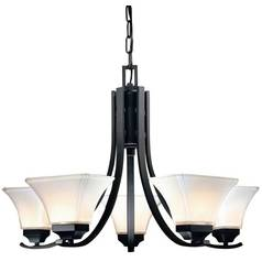 Minka 5-Light Chandelier in Black
