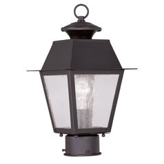 Livex Lighting Mansfield Bronze Post Light