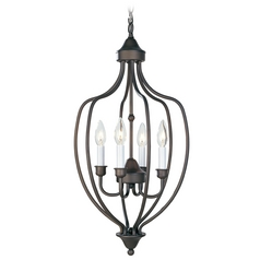 Livex Lighting Bronze Pendant Light