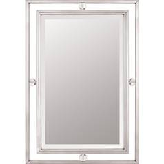 Downtown Rectangle 22-Inch Quoizel Mirror