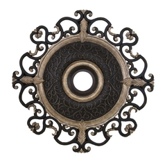 Medallion in Sterling Walnut Finish