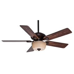 Casablanca Fan Co Casablanca Fan Utopian Gallery Brushed Cocoa Ceiling Fan with Light 54039