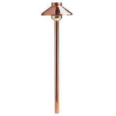 Kichler Lighting Landscape LED Copper LED Path Light