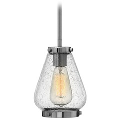 Hinkley Lighting Finley Chrome Mini-Pendant Light with Urn Shade