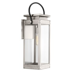 Progress Lighting Union Square Stainless Steel Outdoor Wall Light