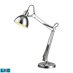 Dimond Lighting Chrome LED Desk Lamp