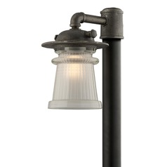 Troy Lighting Pearl Street Charred Zinc Post Light