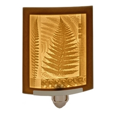 Fern Leaf Lithophane Night Light