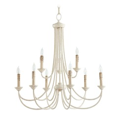 Quorum Lighting Brooks Persian White Chandelier