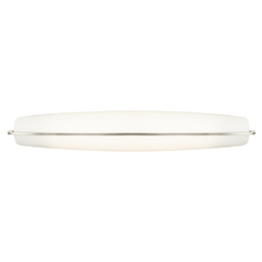 Corva Bath Satin Nickel Bathroom Light - Vertical or Horizontal Mounting