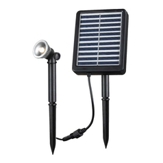 Kenroy Home Lighting LED Solar Light in Black Finish 60501