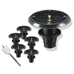Kenroy Home Lighting LED Solar Light in Black Finish 60502