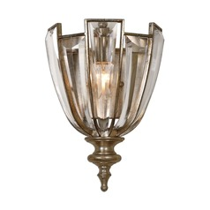 Uttermost Vicentina 1 Light Crystal Wall Sconce