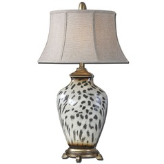 Uttermost Malawi Cheetah Print Table Lamp
