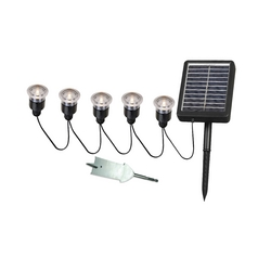Kenroy Home Lighting LED Solar Light in Black Finish 60503