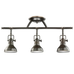 Kichler Lighting Kichler Adjustable Rail Light for Ceiling or Wall Mount 7050OZ