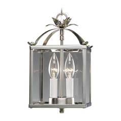 Progress Modern Polished Nickel Mini-Pendant Light with Clear Glass