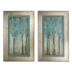 Uttermost Whispering Wind Framed Art, Set of 2