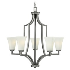 Hinkley Lighting Spencer Brushed Nickel Chandelier