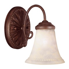 Savoy House Walnut Patina Sconce