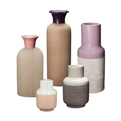 Set of 5 Hakura Sand Vases