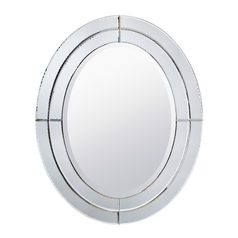 Kichler Ribbon Oval 24-Inch Mirror