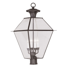 Livex Lighting Westover Bronze Post Light