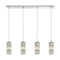Elk Lighting Cynthia Polished Chrome Multi-Light Pendant