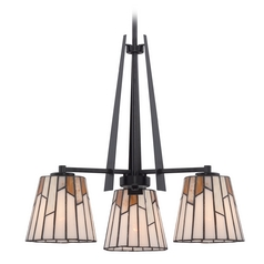 Quoizel Lighting Rochelle Mystic Black Chandelier