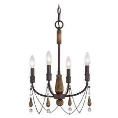 Quoizel Lighting Concord Tuscan Brown Mini-Chandelier
