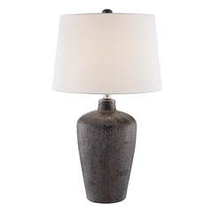 Lite Source Clayton Bronze Table Lamp with Empire Shade