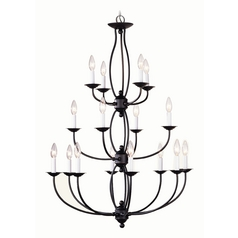 Livex Lighting Bronze Chandelier