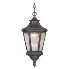 Minka Lighting Hanford Pointe Oil Rubbed Bronze LED Outdoor Hanging Light