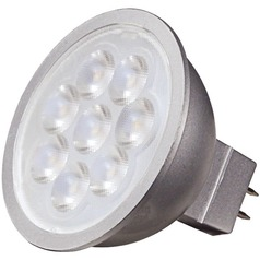 6.5W 2 Pin LED Bulb MR-16 Flood 40 Degree Beam Spread 500LM 3000K Dimmable