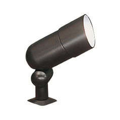 Sea Gull Lighting Modern Flood / Spot Light with Clear Glass in Black Finish 9312-12