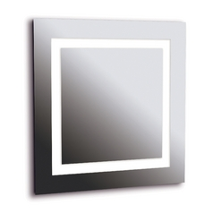 Rifletta Square 28-Inch Illuminated Mirror