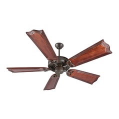 Craftmade Lighting American Tradition Aged Bronze Textured Ceiling Fan Without Light