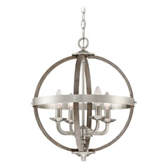 Quoizel Lighting Fusion Brushed Nickel Pendant Light