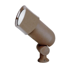 Sea Gull Lighting Modern Flood / Spot Light with Clear Glass in Chestnut Finish 9312-40