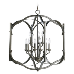 Quorum Lighting Atwood Oiled Bronze Pendant Light