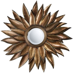 Sterling Lighting Prentiss Round 40.2-Inch Mirror DM1935